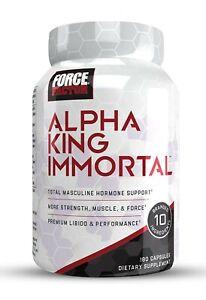 Force Factor Alpha King Immortal (Best Testosterone Booster!) eBay