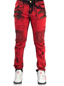 Elite Denim Red Bull II Biker Jeans