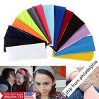 Women Wide Sports Yoga Headband Lady Stretch Hairband Elastic Hair Band Turban