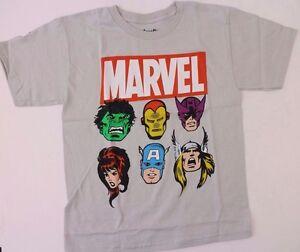 Marvel Avengers Boys T-Shirt Top Various Sizes   NWT