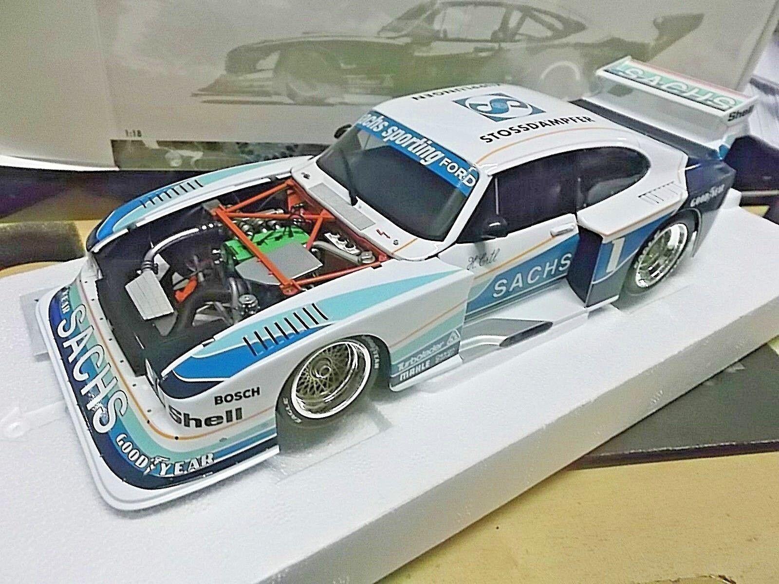 FORD CAPRI ZAKSPEED DRM taille 5 turbo 1979 ERTL Sachs  1 RAR MINICHAMPS 1 18