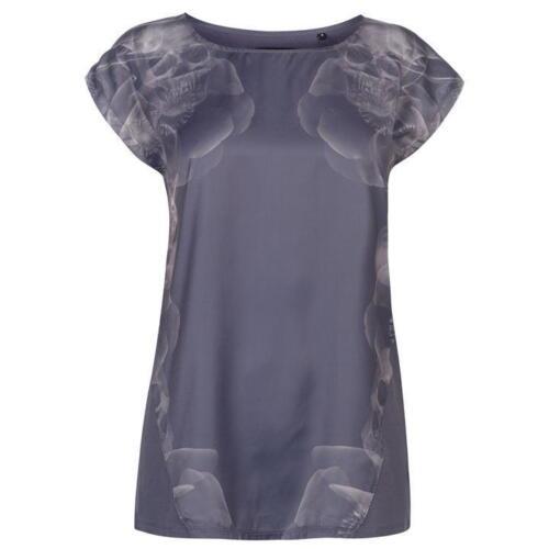 Señoras marca Firetrap Elegante Impreso ligero Hera Camiseta Top Talla 8-18
