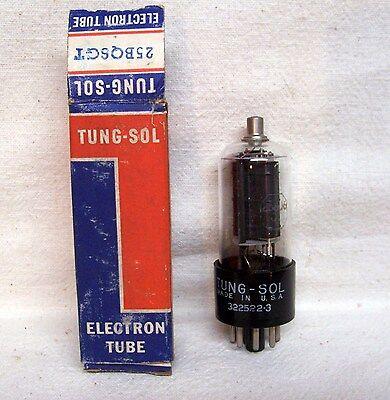 GTB VACUUM TUBE NOS TESTED 25BQ6GT B22