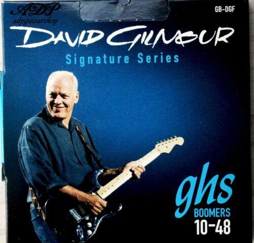 1 jeu Cordes GHS David Gilmour Blue 10-48 Guitare Electrique Strings Set