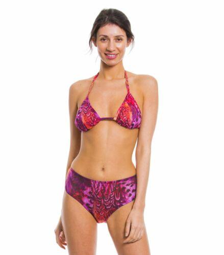 Kiniki Amalfi Purple Tan Through High Waisted Bikini Brief