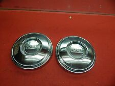 2 Used 67 Ford Galaxie Fairlane Mustang 10 12 Hub Caps C7az 1130 A Fits Mustang