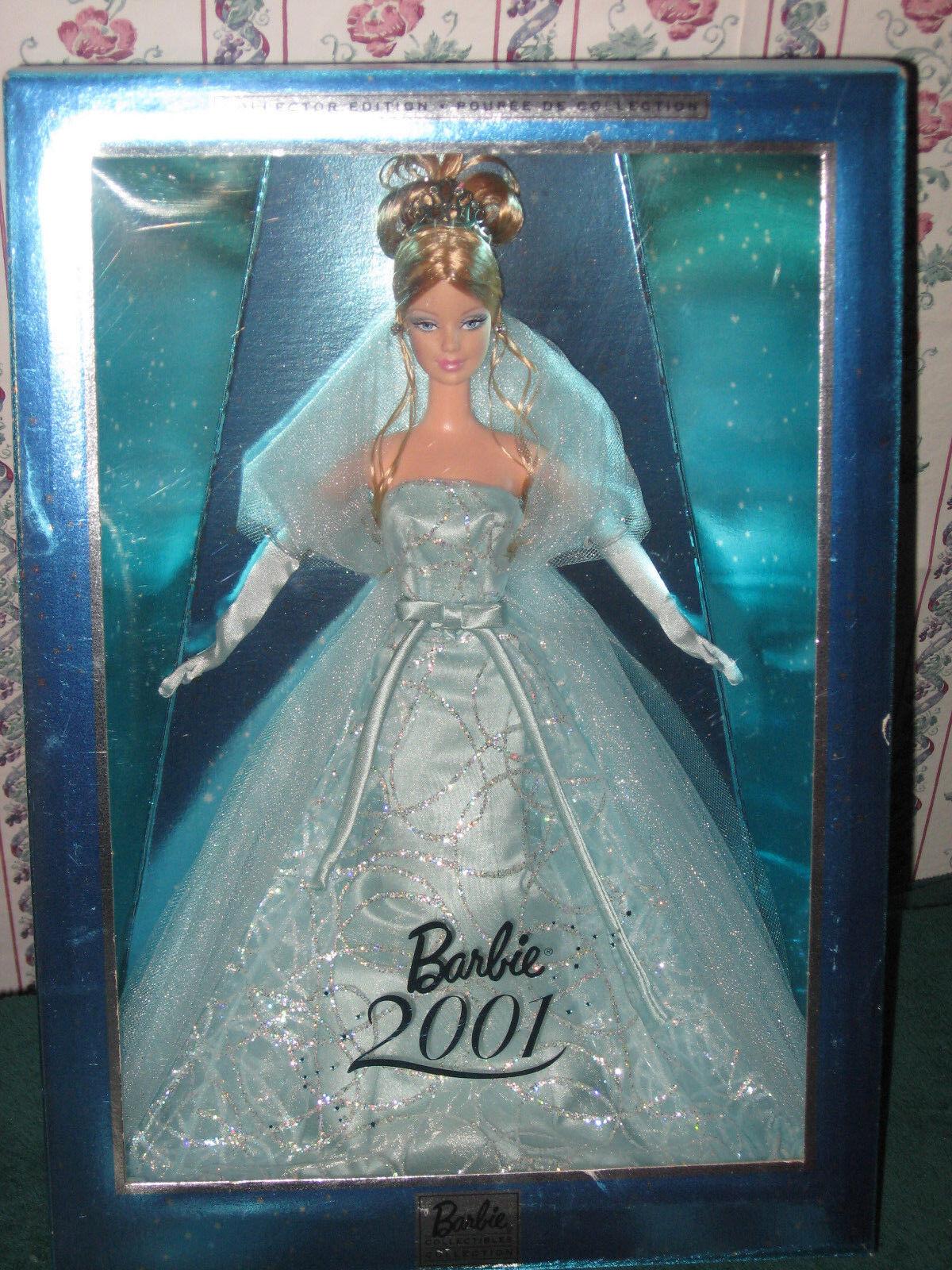 2001 Vestido Turquesa MATTEL Barbie de edición especial de vacaciones