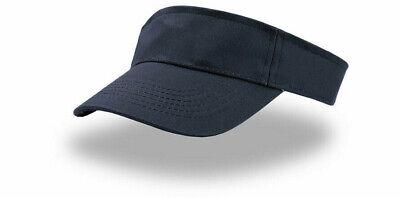 Cappello Visiera Blu Unisex Roland Summerwear Taglia 58 100% Cotone Art.2873u