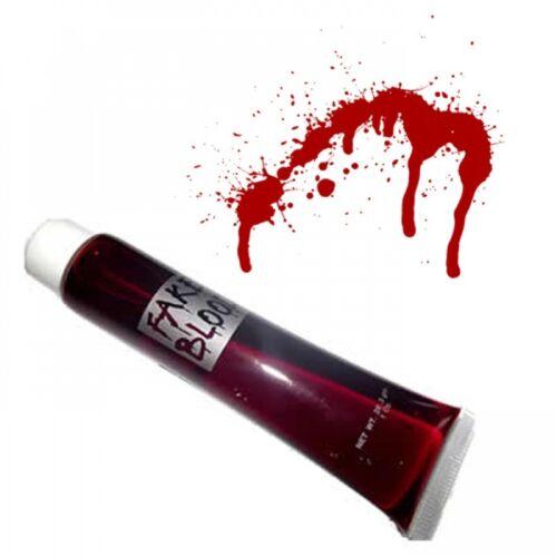 12 Fake Joke Novelty Lot Halloween Blood Fancy Dress Theatre Vampire Zombie Make