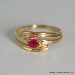 bague or rubis occasion