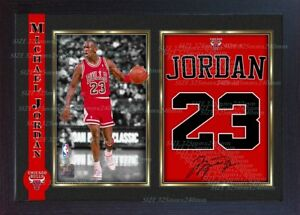 837eecfea7d Image is loading Michael-Jordan-signed-autograph-Basketball-Memorabilia -NBA-photo-