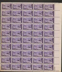 1025 Trucking Industry MNH Sheet CV $11.50