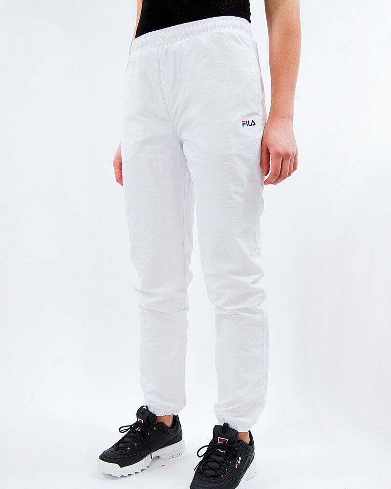 Broek - Fila women Tuta White Slim Fit Vintage