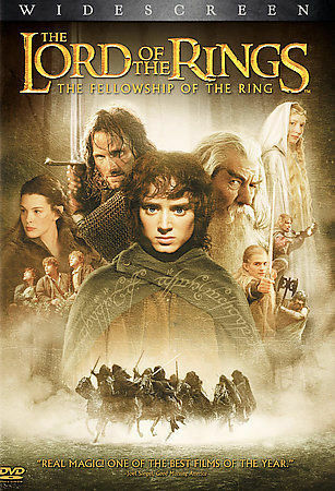 The Lord of the Rings: The Fellowship of the Ring (DVD, 2002, 2-Disc Set, WS)