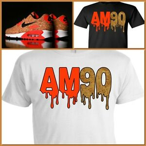 EXCLUSIVE SHIRT TO MATCH NIKE AIR MAX 90 CORKS!