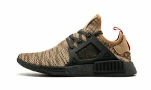 Adidas NMD XR1 Black Red Cardboard Brown sz 8.5. BY9901. footlocker eu exclusive