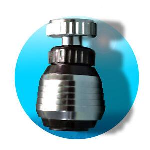 BRAUSEKOPF-Strahlregler-Brause-Schwenkbrause-Wasserhahn-Aufsatz-Wassersparer-360