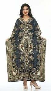 Women-Caftan-Top-Dress-Gown-New-Long-Kaftan-dress-Hippy-Boho-Maxi-1-Size-Plus