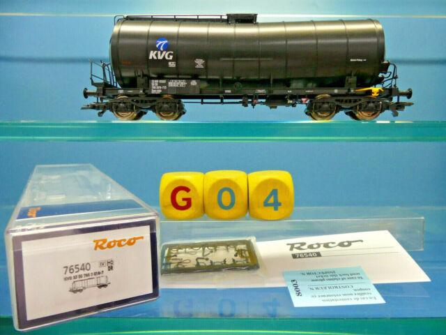 """Roco 76540 Kickkesselwagen /""""KVG/"""" der DR in Epoche IV NEUWARE mit OVP"""