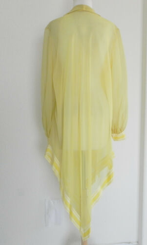 33da2630b24 7 of 9 Vtg Lane Bryant 2 Pc Set Tunic top Dress Chiffon Top  Maxi Dress  Yellow