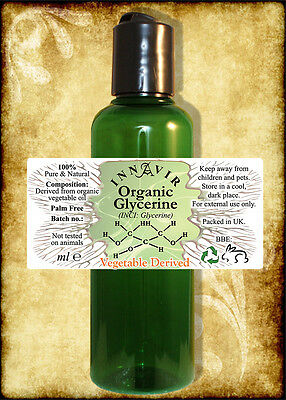 Vegetable Derived Pure Organic Glycerine 100ml
