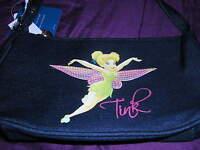 Disney Tinkerbell Short Shoulder Handbag/purse - Denim Color