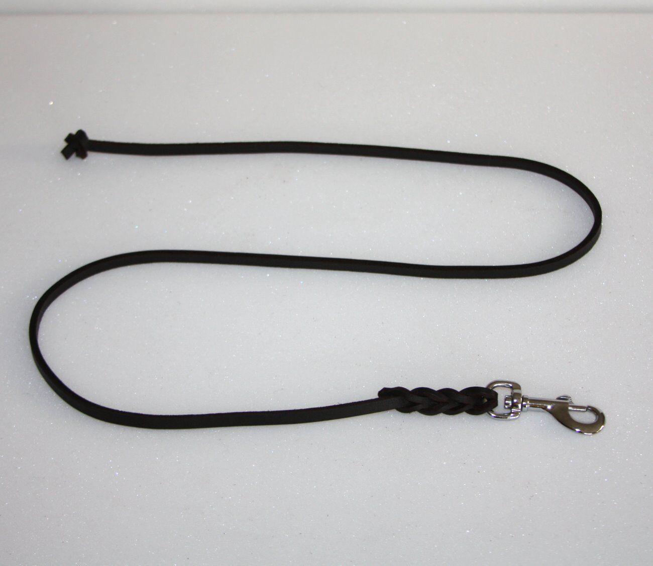 Lederleine aus Fettleder - 15 mm mm mm - Arbeitsleine Suchleine Schleppleine NEU  | Sale Deutschland  2a47a3