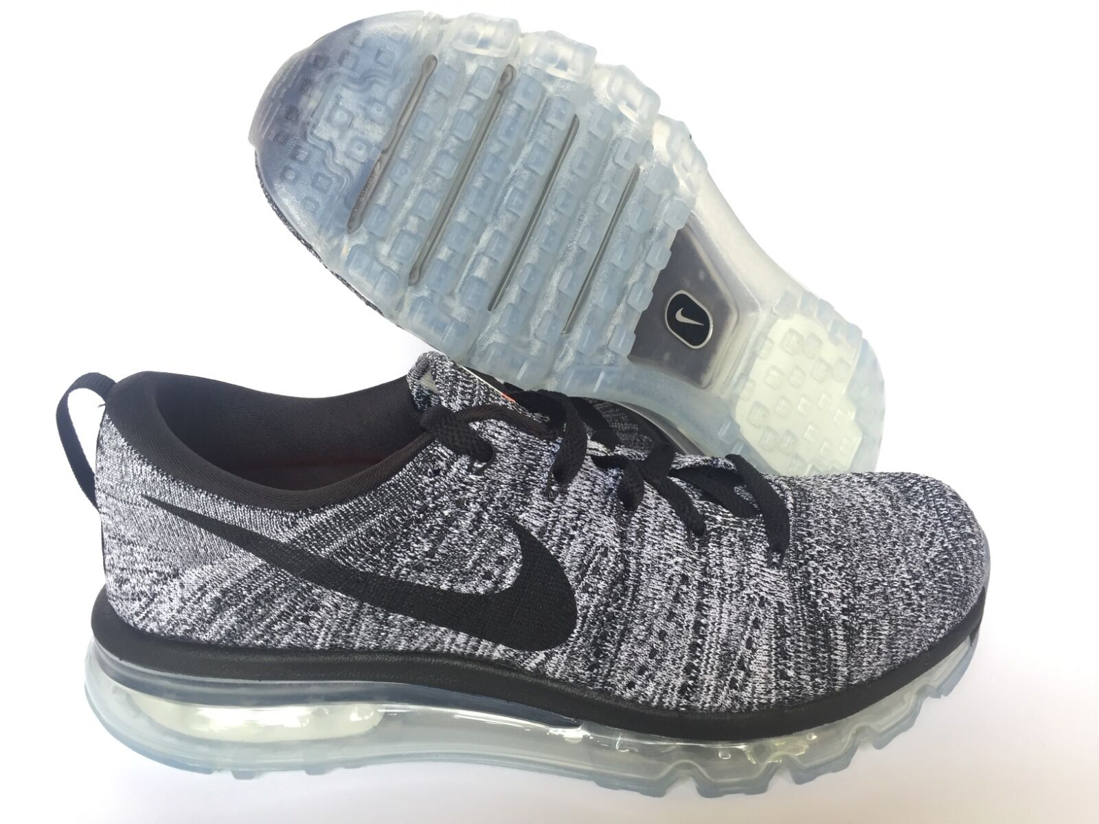 Nike Air Max Flyknit NEW schwarz Weiß   US MEN SZ 7