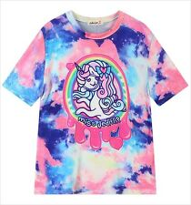Rainbow Galaxy Unicorn T-Shirt Kawaii Harajuku Fashion Pastel Goth - LS0027