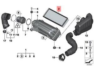 Genuine MINI R55 R56 R57 Engine Air Filter Insert OEM 13717568728