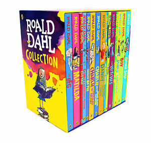 Roald-Dahl-15-Books-Box-Set-Collection-New-Covers-Going-Solo-Matilda