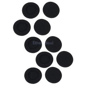 5-Paare-50mm-soft-Schaumstoff-Ohrpolster-Ohrkissen-fuer-Kopfhoerer-Ohrhoerer