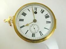 Orologio in Ottone Antico Meccanico Chiave Ferita Orologio Navi
