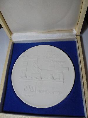 Qualifiziert 29637 Meißen Medaille Ok Wmw Vorrichtungsbau Hohenstein 11,7cm Betriebszugehörig Extrem Effizient In Der WäRmeerhaltung