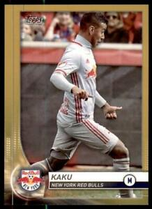 2020 MLS Base Gold #66 Kaku /50 - New York Red Bulls