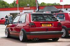 Golf MK2 REAR WINDOW LOUVER (FiberGlass)