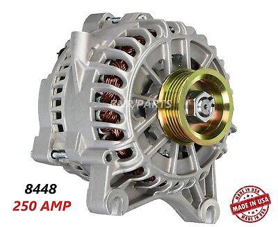250 Amp 7773 Alternator Ford Lincoln Mercury High Output Performance HD USA
