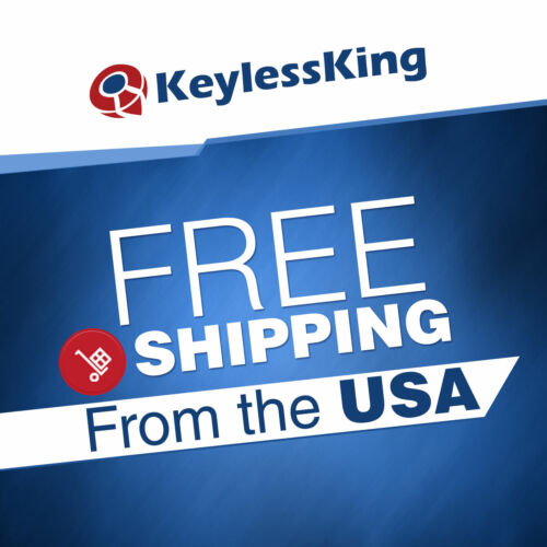 2 Remote Key Fob Shell Case for 2001 2002 2003 2004 2005 06 07 08 Toyota Sequoia