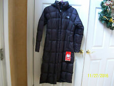 NWT THE NORTH FACE WOMENS TRIPLE C PARKA 700 FILL  LONG DOWN BRUNETTE BROWN