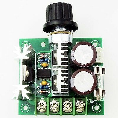 12V-40V 10A Pulse Width Modulation PWM DC Motor Speed Control Switch Controller