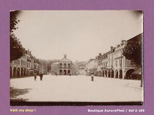 PHOTO-1890-DEPARTEMENT-DE-LA-MEUSE-VILLE-A-IDENTIFIER-PLACE-DE-LA-MAIRIE-A189
