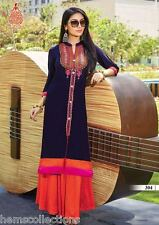 XL Gorgeous Designer Heavy Rayon Cotton Embroidered Kurti, Kurta,Tunic