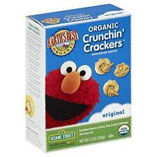 Earth's Best Organic Crunchin' Crackers, Original, 5.3 Ounce (Pack of 6), New, F