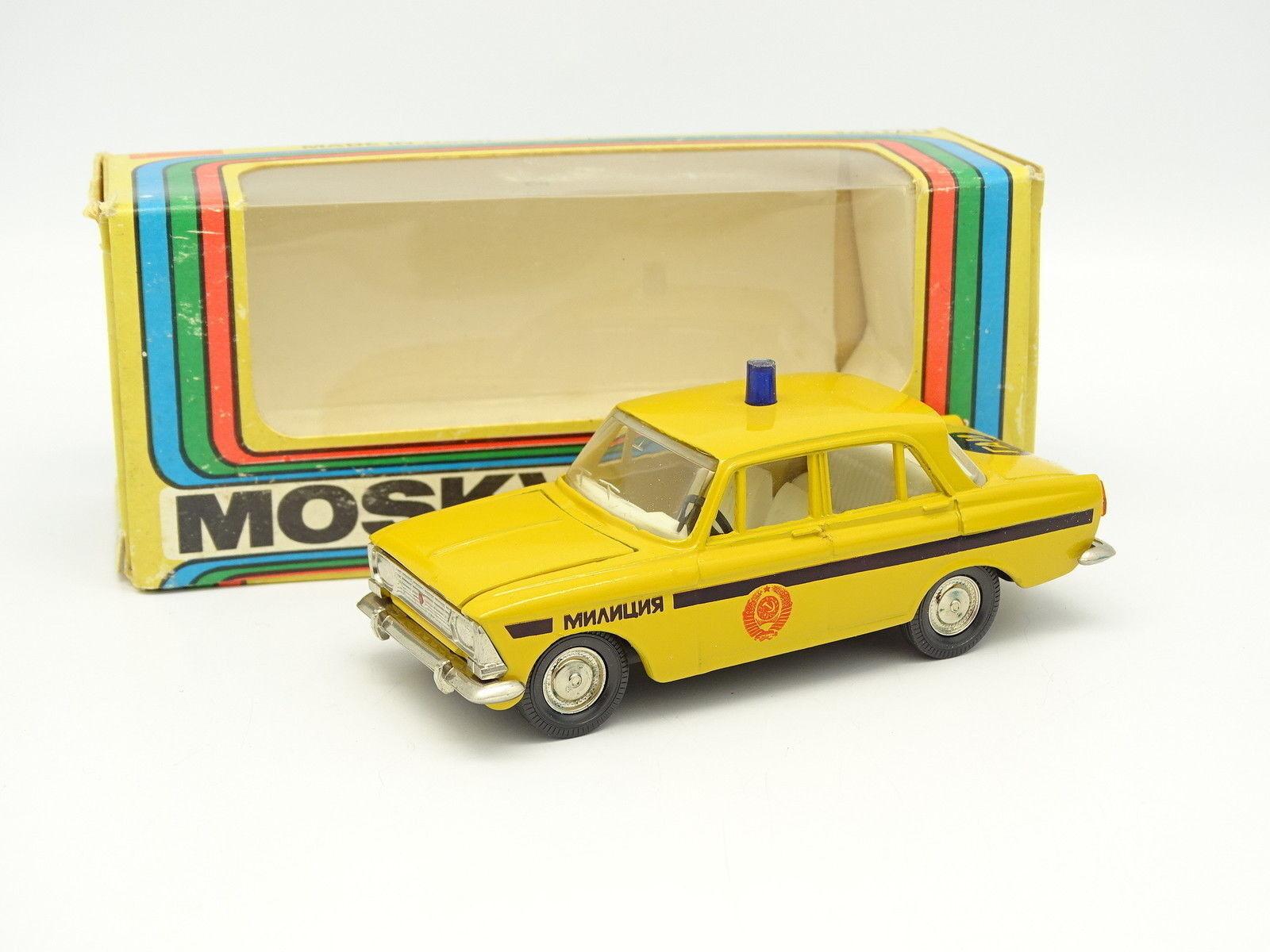 USSR Saratov 1 43 - Moskvitch Lada 412 Police (Policía)