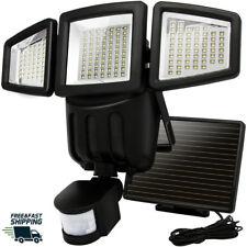 Solar Lights Outdoor Motion Sensor 182 LED 1000 Lumens Solar Lights Weatherproof