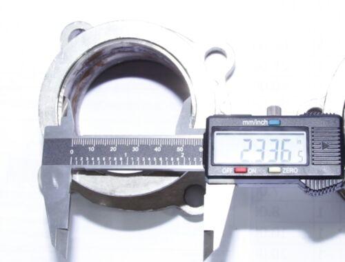 "Steel Adaptor for GT35 4Bolt to 2.5/"" V-Band Flange Fits Toyota Acura Honda BMW"