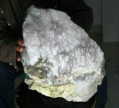 26.5lb AAA+++ Natural purple AMETHYST quartz Crystal Cluster Tibetan Specimen