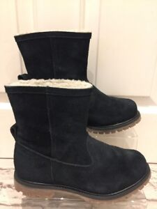 Women's Black Suede Timberland Boots