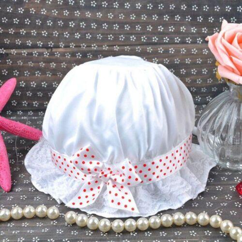 Bowknot Unisex Newborn Infant Outdoor Headwear Children/'s Cap Baby Sun Hat