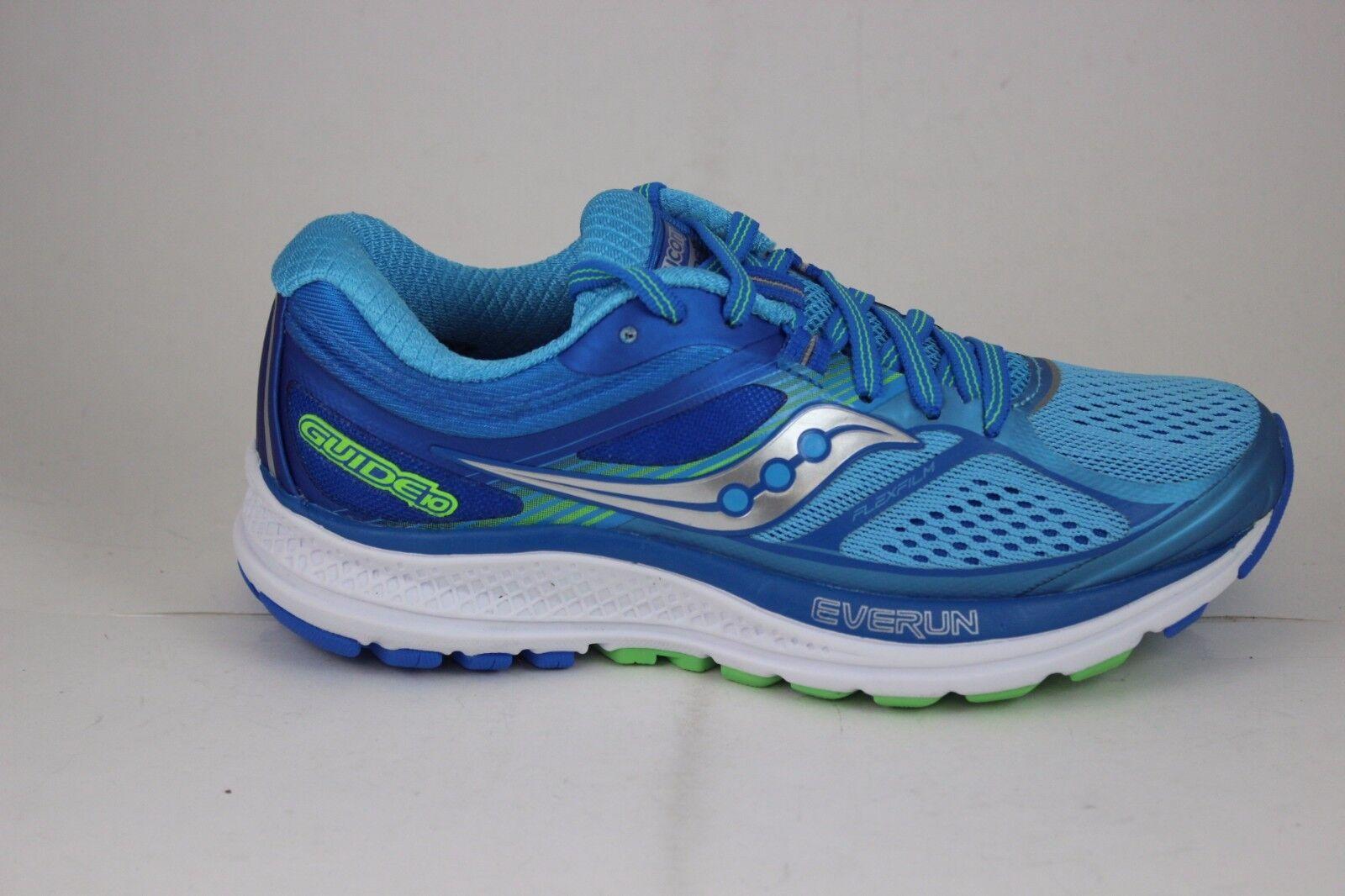 39c80466795b Saucony S10351-1 Guide 10 Light Blue  Blue Women Running Shoes Size ...
